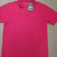 kaos Polo Shirt Airwalk Original Pria Merah, Putih, Cream/Beige