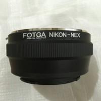 Fotga Lens adapter , lensa Nikon to Body Sony E Mount / Nikon - NEX