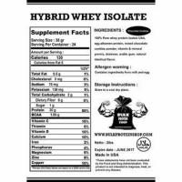 Hybrid Whey Protein Isolate 5lbs 5 lbs (Halal)