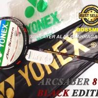 Raket Badminton Yonex Arcsaber 8 DX BLACK EXTENDED Edition NanoScience