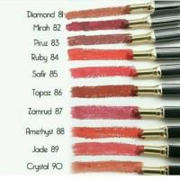Jual Purbasari color matte lipstick/lipstik no 81-90 Murah