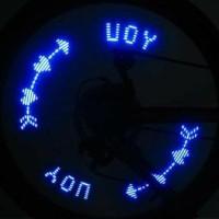 Lampu LED Roda / Pentil Warna - Warni Unik (Bisa Mengeluarkan kata2)