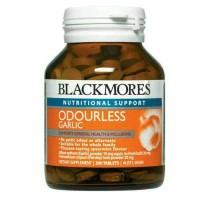 Jual Blackmores Odourless Garlic 200 tablet Murah