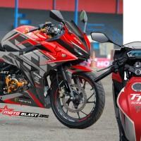 Decal stiker New CBR150R Isle Man TT Red