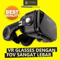 Jual Bobo VR Z4 Black Virtual Reality Glasses 3D | Cardboard Google VR Box Murah