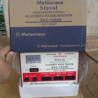 harga Stabilizer Matsunaga 1000watt 1000 Watt 1000w Stavol Svc 1000 Tokopedia.com