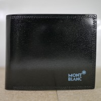 DOMPET KULIT PRIA MONT BLANC DK187-003 BLACK MANTAP!   Grosir!