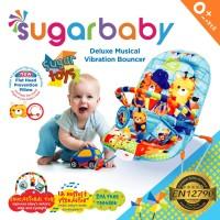 Bouncer Bayi Sugar Baby Deluxe Musical Vibration 1Recline - Sugar Toys