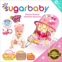 Bouncer Bayi Sugar Baby Deluxe Musical Vibration 1Recline - Sugar Chef