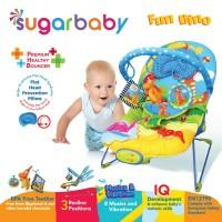Bouncer Bayi Sugar Baby Premium Healthy Bouncer 3 Recline - Fun Dino