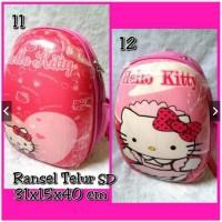 Jual Tas Ransel Anak SD Bentuk Telur Hello Kitty Murah