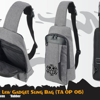 Tas Anime One Piece Trafalgar Law Gadget Sling Bag (TA OP 06)