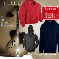 Jaket Polos Sweater hoodie polos Jaket distro size M L XL