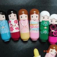 Cute LIP BALM HARAJUKU DOLL (Lip Gloss) Lipbalm Boneka Kimono Jepang