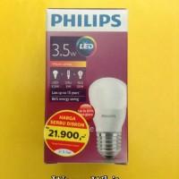Lampu Philips LED 3,5 Watt kuning/Bohlam 3 W kuning/Philips kuning 3 W