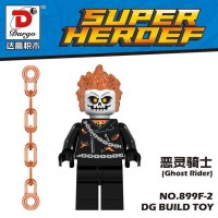 Jual Ghost Rider Dargo Minifigure Marvel Super Heroes Lego KW Murah