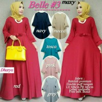 busana muslim gamis modern elegant, long dress muslim wanita modern