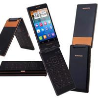 harga Lenovo A588T Android Flip Phone Calmshell Tokopedia.com