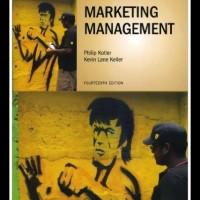 Marketing Management 14th edition