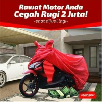 COVER MOTOR HONDA CB 250 STREET FIRE ANTI AIR 70% MURAH BERKUALITAS