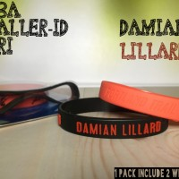 DAMIAN LILLARD #0 NBA BALLER ID ORI BAND BANDS BASKETBALL WRISTBAND