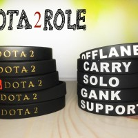 DOTA 2 ROLE WRISTBAND GAMING GELANG NIKE ADIDAS YOUTUBE VALVE