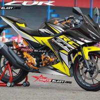 Decal stiker New CBR150R Black RC Yellow