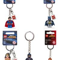 Lego Keychain Superman Batman Wonder Woman Captain America Black Widow