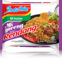 Indomie Mi Goreng Rendang Instan Noodle fied Noodle Indomie