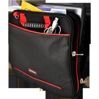 Tas Laptop Ultimate Laptop Bag Gerbiro 12 Hitam List Merah