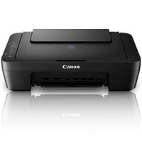 Canon Pixma E400 Inkjet White Grey Multifungsi Printer