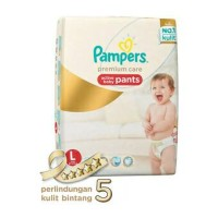 harga Pampers Premium Care Pants L62 Tokopedia.com