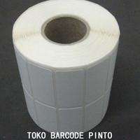 "33x15mm 2line 2000pcs thermal,gap2mm core1"",Label sticker barcode"