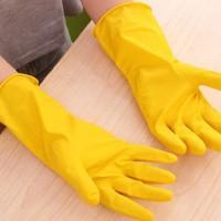 Sarung Pelindung Tangan Cuci Piring Latex Gloves Anti selip Waterproof
