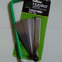 Kunci Stel Klep Set + Fuller Gauge Tekiro Feeler 0.05-1mm