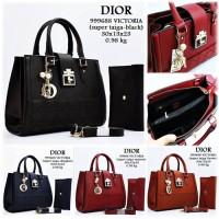 Tas Wanita/Dior/Tas Import/Tas Murah/Handbag/Tas Wanita Branded/Merah