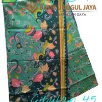 Harga kain batik pekalongan primisima halus cibulan 45 tosca unggul | Hargalu.com