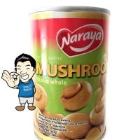 Naraya Mushroom Canned/ Jamur Kancing kaleng- 425g