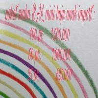 paket usaha bal mini baju anak import 50 pieces