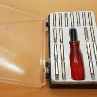Obeng Jackly 20 Pcs Mobil Tool