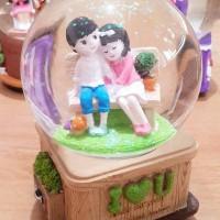 Jual kado ulang tahun birthday gift kotak musik romantis lucu unik keren Murah