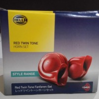 Jual Klakson Hella Keong Merah Twin Tone Horn 12v Murah