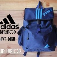 Jual Tas ransel laptop adidas predator original cowok/ cewek murah Terbaru Murah