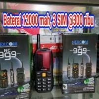 HP NEXCOM NC999 / HP Nexcom 12,000MAH POWERBANK 3 SIM Semarang
