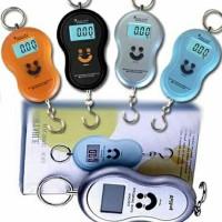 Jual Timbangan Gantung Portable Digital Scale Smile Online Shop Travel Murah