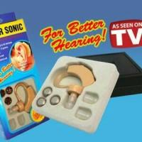Cyber Sonic Hearing Aid / Alat Bantu Dengar BTE / Wireless