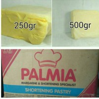 Palmia Shortening Pastry 500gr Korvet Atau bahan Puff Patry Ekonomis