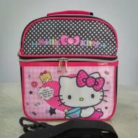 Jual Tas bekel selempang Hello Kitty / lunch bag kiti Murah