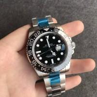 JUAL JAM ROLEX GMT MASTER II 116710 BLNR BLACK CERAMIC BEST CLONE
