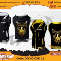 [VG COD 02] JAKET ROMPI VEST GAME CALL OF DUTY YELLOW